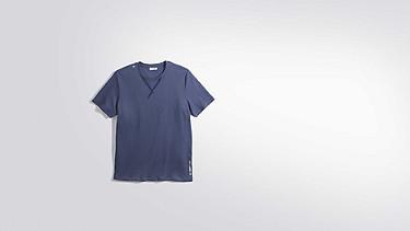 JASO V1.Y2.01 Taurex® T-Shirt with Tape Detail blue Back Alpha Tauri