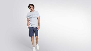 JEGA V1.Y2.01 Taurex® Print T-Shirt light blue Haupt Vorne Alpha Tauri