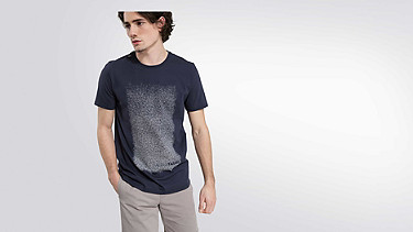 JONS V1.Y2.01 Graphic Taurex® T-Shirt  navy Model shot Alpha Tauri