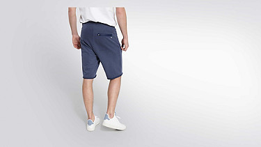 PUGH V2.Y2.01 Sweat Shorts blue Front Alpha Tauri