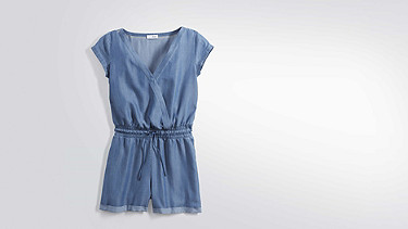 WAXA V1.Y2.01 Short Jumpsuit blue Back Alpha Tauri