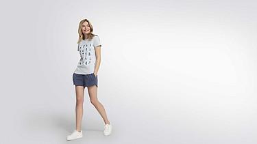 JALP V1.Y2.01 Taurex® Print T-Shirt  light blue Front Main Alpha Tauri