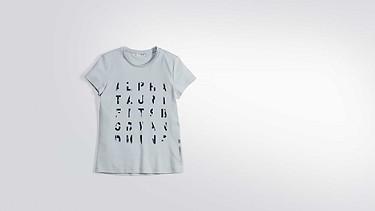 JALP V1.Y2.01 Taurex® Print T-Shirt  light blue Back Alpha Tauri