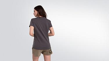 JALP V1.Y2.01 Taurex® Print T-Shirt  dark grey Front Alpha Tauri