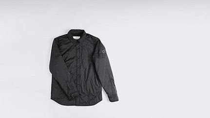 OROC V1.Y0.01 Ultralight Quilted Jacket black Back Alpha Tauri