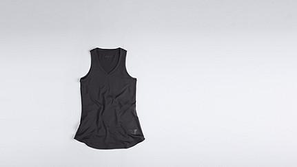 JIRA V1.Y0.01 Sporty Vest dark grey / anthracite Back Alpha Tauri