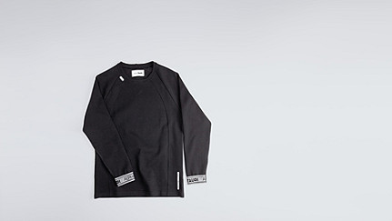 STOE V1.Y0.02 Herobranding Sweatshirt black Hinten Alpha Tauri