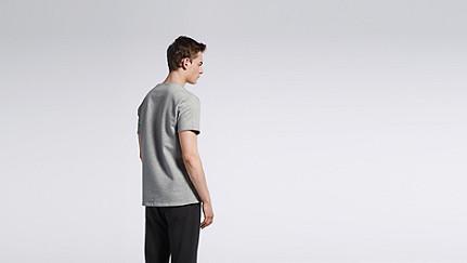 JUJO V1.Y0.02 Short-sleeved T-shirt grey Front Alpha Tauri