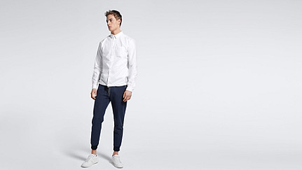 WIDT V1.Y0.02 Oxford Shirt white Front Main Alpha Tauri