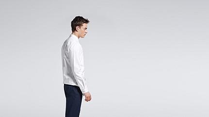 WIDT V1.Y0.02 Oxford Shirt white Front Alpha Tauri