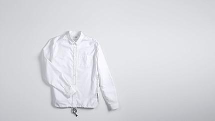 WIDT V1.Y0.02 Oxford-Hemd white Hinten Alpha Tauri