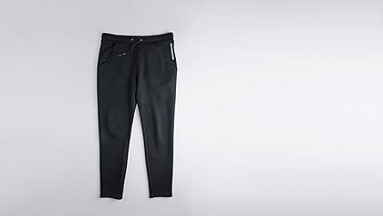 PITZ V1.Y0.02 Sweatpants black Back Alpha Tauri