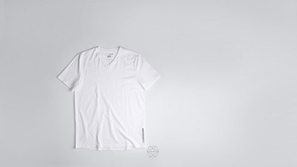 BUCK Taurex® T-Shirt mit V-Ausschnitt white Hinten Alpha Tauri