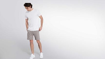 BARU Round-neck Taurex® T-shirt white Front Main Alpha Tauri