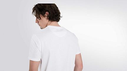 BARU Round-neck Taurex® T-shirt white Front Alpha Tauri