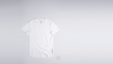BARU Round-neck Taurex® T-shirt white Back Alpha Tauri