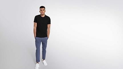 BARU Round-neck Taurex® T-shirt black Front Main Alpha Tauri