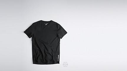 BARU Taurex® T-Shirt mit Rundausschnitt black Hinten Alpha Tauri