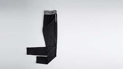 PORT V2.Y0.02 Herobranding Leggings black Hinten Alpha Tauri