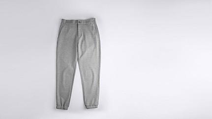 PRIS V1.Y0.02 Luxuriöse Sweatpants grey Hinten Alpha Tauri