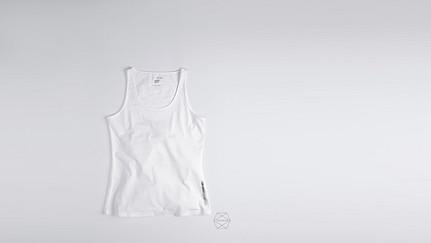 BESS Taurex® Tank-top white Back Alpha Tauri