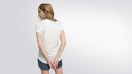 BARA Taurex® T-Shirt mit Flügelärmeln white Vorne Alpha Tauri