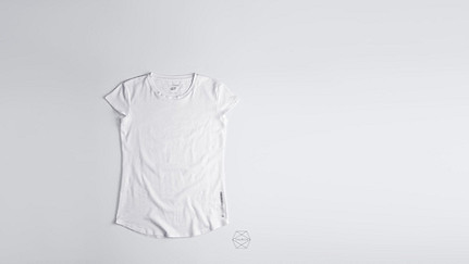 BARA Cap-Sleeved Taurex T-shirt white Back Alpha Tauri