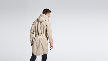 KORE V3.Y1.01 Two-Piece Insulated Parka beige - sand Front Alpha Tauri