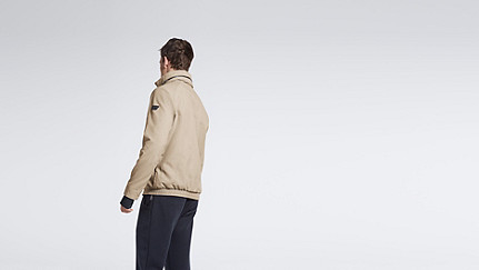 OULO V1.Y1.01 Signature Jacket beige - sand Front Alpha Tauri
