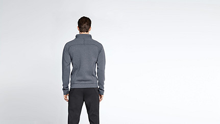 SAWA V1.Y1.01 Sweat Jacket blue Front Alpha Tauri