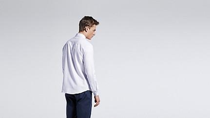 WIDT V2.Y1.01 Oxford Shirt white Front Alpha Tauri