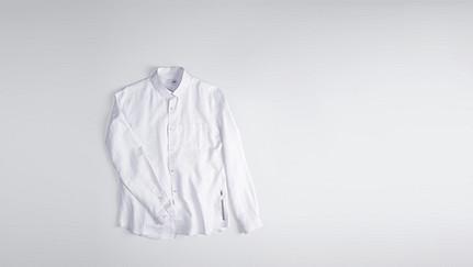 WIDT V2.Y1.01 Oxford Shirt white Back Alpha Tauri