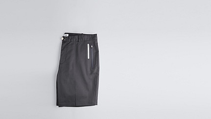 PARE V1.Y1.01 PARE are shorts with an innovative closure. navy Back Alpha Tauri