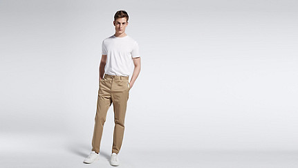 PRIT V1.Y1.01 Contemporary Pant beige - sand Front Main Alpha Tauri