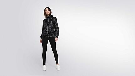 OCHA V1.Y1.01 Packable Jacket black Front Main Alpha Tauri