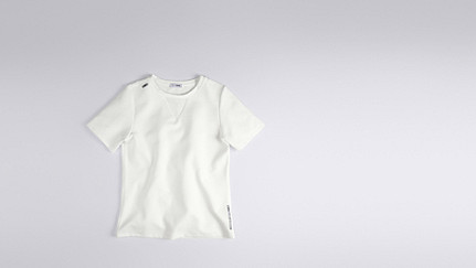 JOKA V1.Y1.01 Kurzärmliges T-Shirt white Hinten Alpha Tauri