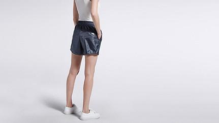 PALL V2.Y1.01 Sportliche Shorts navy Vorne Alpha Tauri