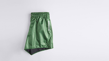 PALL V2.Y1.01 Sporty Shorts green Back Alpha Tauri