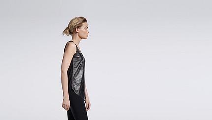 LOVA V1.Y1.01 Leather Top black Front Main Alpha Tauri