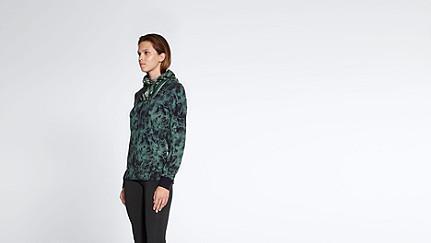 SITA V2.Y1.01 Cold Dye Sweatjacket camouflage Front Alpha Tauri