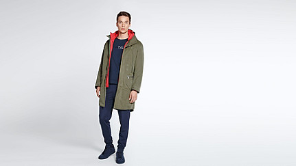 KORE V4.Y1.02 Two-piece Insulated Parka olive Front Main Alpha Tauri
