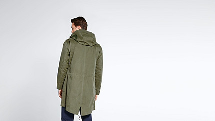 KORE V4.Y1.02 Two-piece Insulated Parka olive Front Alpha Tauri