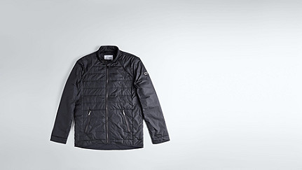 OSSO V1.Y1.02 Quilted Jacket navy Back Alpha Tauri