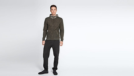 SOLF V3.Y1.02 Cold Dye Sweat Jacket camouflage Front Main Alpha Tauri
