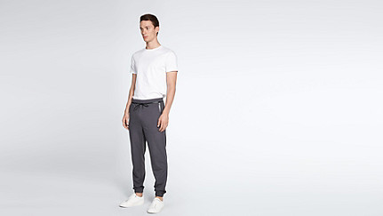 PRYK V1.Y1.02 Sweat Pants dark grey Front Main Alpha Tauri