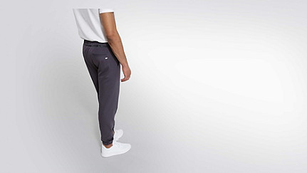 PRYK V1.Y1.02 Sweat Pants dark grey Front Alpha Tauri