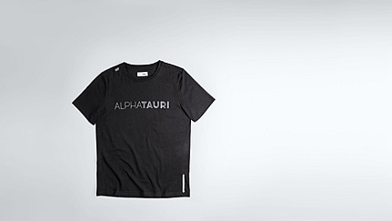 JIGU V1.Y1.02 Logo T-shirt black Back Alpha Tauri