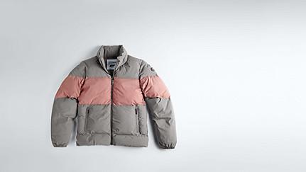OKLA V1.Y1.02 Padded Jacket grey / other Back Alpha Tauri