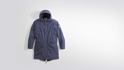 KORE V5.Y2.01 Technical-Parka navy Hinten Alpha Tauri