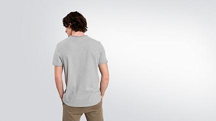 JEGA V1.Y2.01 Taurex® Print T-Shirt grey / melange Vorne Alpha Tauri